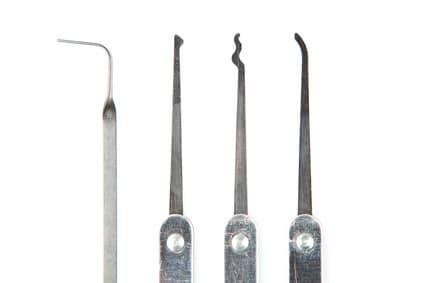 Schlüsseldienst Werkzeuge